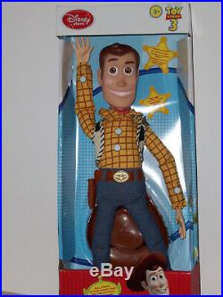 Toy Story Disney Store Exclusive Set Woody And Jessie Doll Figure 14 New Rare 1