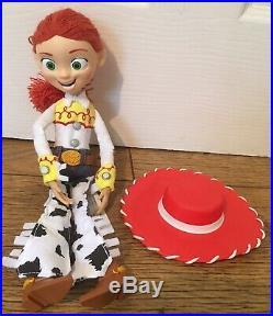 Toy Story Figures Bundle Buzz Woody Rex Jessie Bullseye Slinky 15 Ins Talking