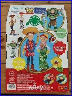 Toy Story Hawaiian Vacation Special Edition Woody and Jessie Dolls MISB RARE
