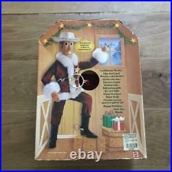 Toy Story Holiday Woody Talking Figure Doll Rare Mattel Pixar Movie Animation