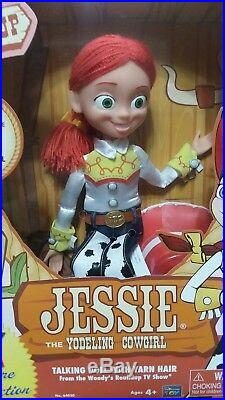 Toy Story Jessie the Yodeling Cowgirl & Sheriff Woody Signature Collection Dolls