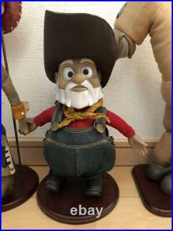 Toy Story Life Size Doll Set Young Epoch Woody Jessie Prospector Bullseye Figure