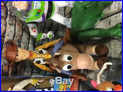 Toy Story Lot Talking Pull String Doll Woody Jessie Buzz Rex Mr. Potato & More