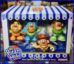 Toy Story Mr. Potato Head Buzz Woody Ducky Bunny Set Of Mr. Potato Disney Pixar