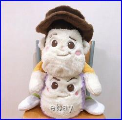 Toy Story Nesoberi Big Plush Doll Set of 2 Woody Buzz Disney PIXAR 60cm SEGA