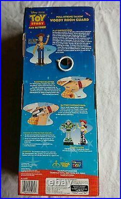 Toy Story Poseable Pull String Talking Woody Thinkway Rare From Japan By DHL