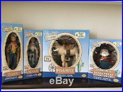 Toy Story Prospector Woody Jessie Bullseye Figure Doll Roundup Rare Young Epoch
