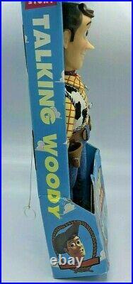 Toy Story Pull String Talking Woody 1995 Original Disney Pixar 62810 NOT WORKING