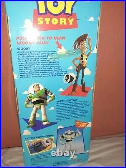 Toy Story Pull String Talking Woody Doll First Release 1995