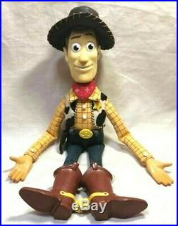 Toy Story Roundup Woody Figure Doll Life size replica Young Epoch Rare Vintage