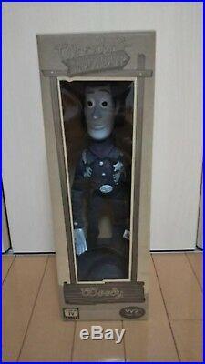 Toy Story Roundup Woody Jessei Black & white ver. Figure Doll set very good