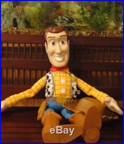 Toy Story SHERIFF WOODY Cowboy Giant 32 Figure Doll DISNEY PIXAR