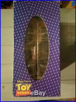 Toy Story Sheriff Woody Bobblehead Doll Disney Pixar Animation Studios Japan H6