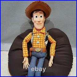 Toy Story Sheriff Woody Pull String Talking Doll -j