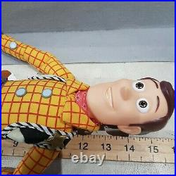 Toy Story Sheriff Woody Pull String Talking Doll theres a snake boot