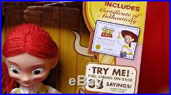 Toy Story Signature Collection Woodys Roundup Talking Doll Cowgirl Jessie NEW