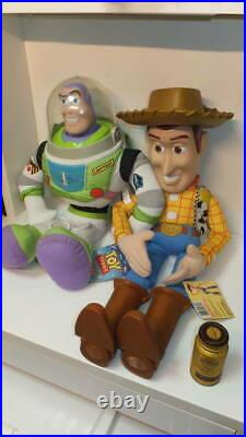 Toy Story Super Big Woody Buzz Dolls Giant And Disney Wounded