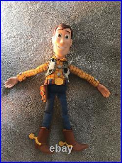 Toy Story Talking Bundle Woody, Jessie, Buzz & Bullseye ALL TESTED & WORKING