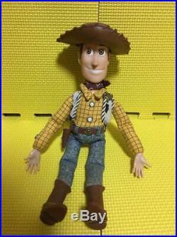 Toy Story Talking Figure Doll Woody Thinkway 1995 original Disney Pixar Vintage