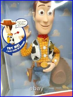 Toy Story Talking Sheriff Woody Doll Pull-String Talking Action Figure Disney
