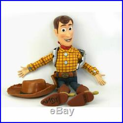 Toy Story Talking Sheriff Woody Pride Cowboy Stuffed Soft Plush Play Toy Doll