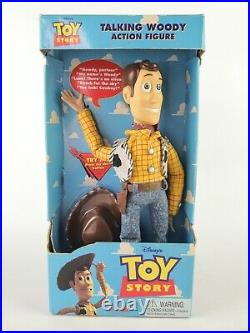 Toy Story Talking Woody 1st Edition 1995/1996 11 Push Button Thinkway New
