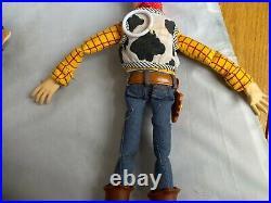 Toy Story Talking Woody, BUZZ LIGHTYEAR, ZURG, Galloping Bullseye ALL WORK GREAT