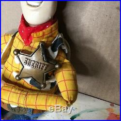 Toy Story Talking Woody Pull String Doll Thinkway Toys Disney Pixar