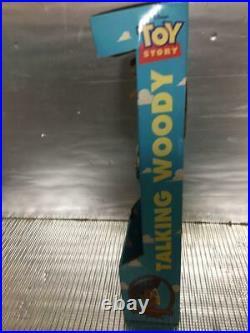 Toy Story Talking Woody Pull String ThinkWay Vintage 1995 Disney Rare FedEx L04