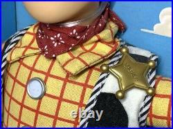 Toy Story Talking Woody Pull String ThinkWay Vintage 1995 Disney Rare FedEx M