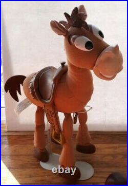 Toy Story Thinkway Lot Woody Jesse Pull String Buzz Lightyear Bullseye Signature