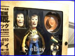 Toy Story Woody Action Figure Toy Doll Kaiyodo Revoltech 010 Collectible New 6