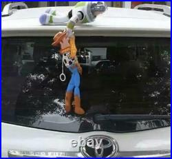 Toy Story Woody Buzz Car Hanging Doll! With helmet new japan