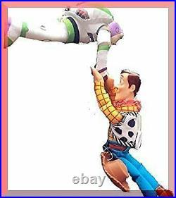 Toy Story Woody Buzz Figure Doll Sticker Car