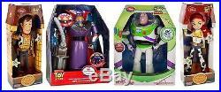 Toy Story Woody-Buzz Lightyear-Jessie Cowgirl-Zurg Talking Action Figure Doll
