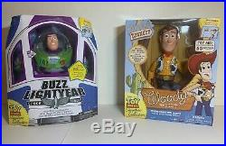 Toy Story Woody & Buzz Lightyear Signature Collection Talking Figures New