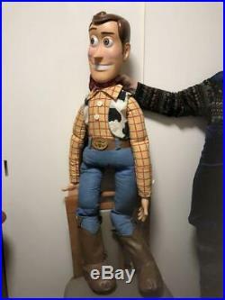 Toy Story Woody Disney Big Plush Figure Toy Doll Woody Andy STINKY Pete Jessie