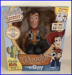 Toy Story Woody Doll Signature Collection New With Box COA Pull String
