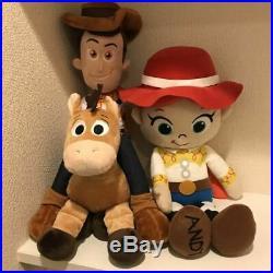 Toy Story Woody Jesse Bullseye Plush Doll 3 Body Set