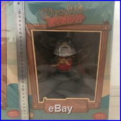 Toy Story Woody Jessie Bullsey Prospector Figure Doll Roundup Young Epoch RARE