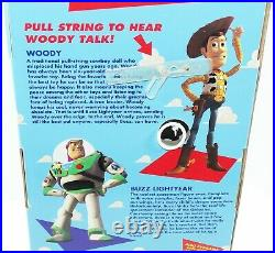 Toy Story Woody Poseable Pull-String Woody Non-Working Disney MIP Think Way