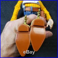 Toy Story Woody Pull-String Talking 15 Doll Thinkway Disney Pixar Works Great