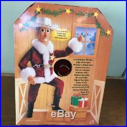 Toy Story Woody Santa Costume Holiday Christmas Mattel Rare Figure Doll F/S