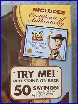 Toy Story Woody Signature Collection Doll Disney Pixar