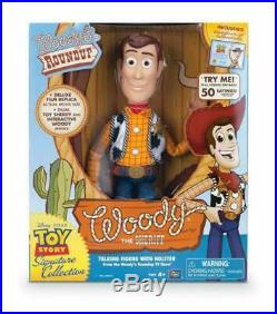Toy Story Woody The Sheriff Signature Collection Doll From Woody's RoundUp New