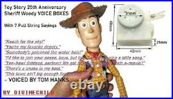 Toy Story Woody doll Pull string Voice Box (MOVIE PROP) Signature Collection