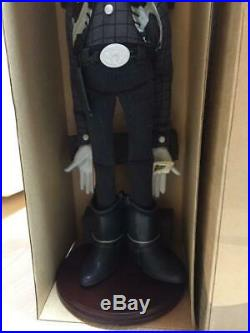 Toy Story Woody's Roundup Figure Woody Young Epoch Vintage Toy Doll Black White