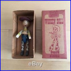 Toy Story Woody's Roundup Jessie Wooden Doll Japanese Limited Young Epoch F/S
