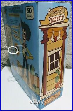 Toy Story Woody's Roundup Talking Sheriff Woody 2010 Toy Story Collection NEW