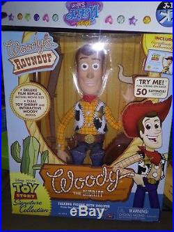 Toy Story Woody's Roundup Talking Sheriff Woody Doll. GET IN TIME FOR XMAS